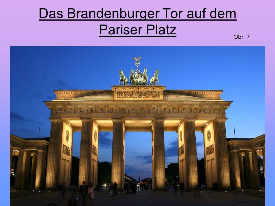 Das Brandenburger Tor auf dem Pariser Platz
