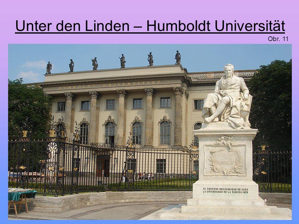 Unter den Linden – Humboldt Universität