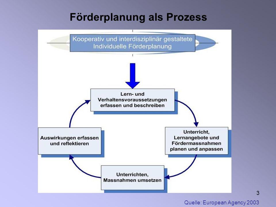 Förderplanung als Prozess