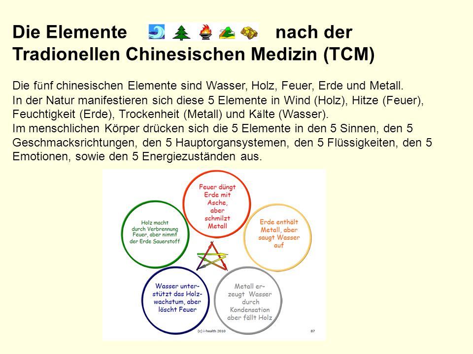 Tradionellen Chinesischen Medizin (TCM)