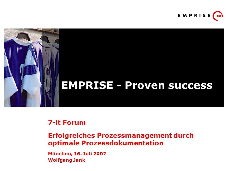 EMPRISE - Proven success