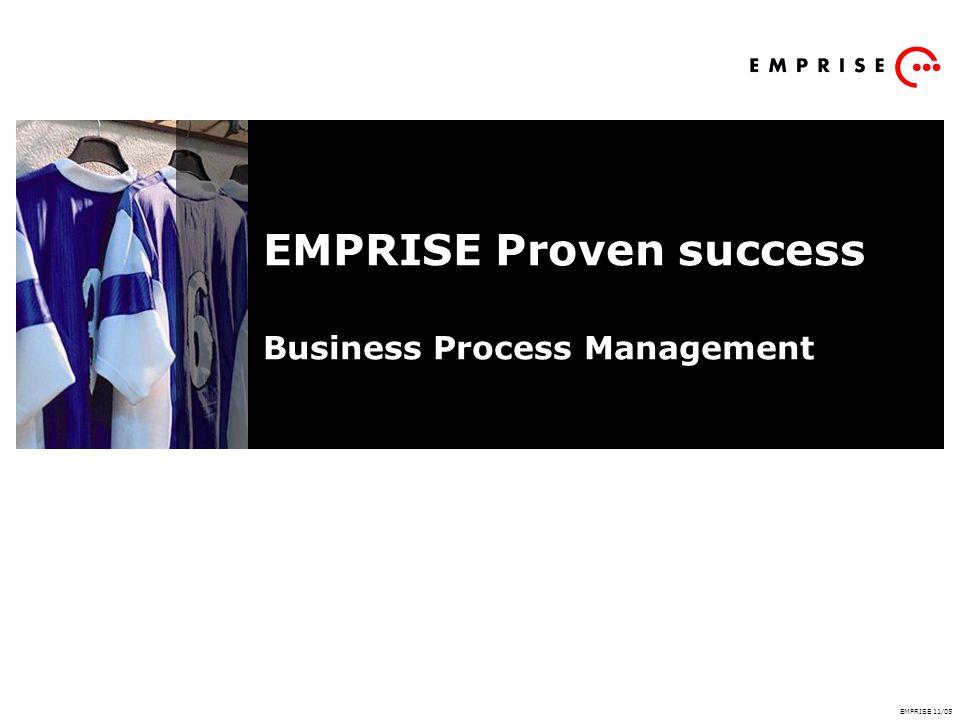 EMPRISE Proven success Business Process Management