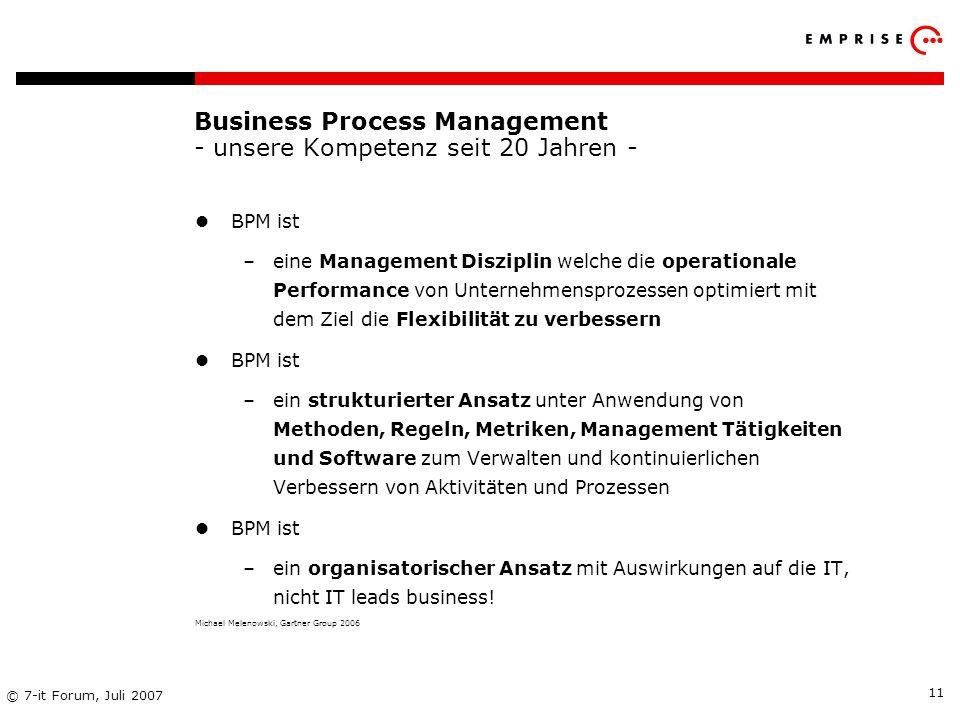 Business Process Management - unsere Kompetenz seit 20 Jahren -