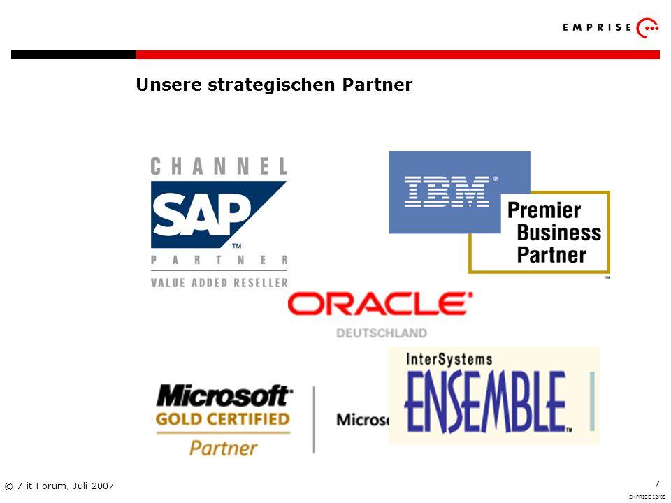 Unsere strategischen Partner