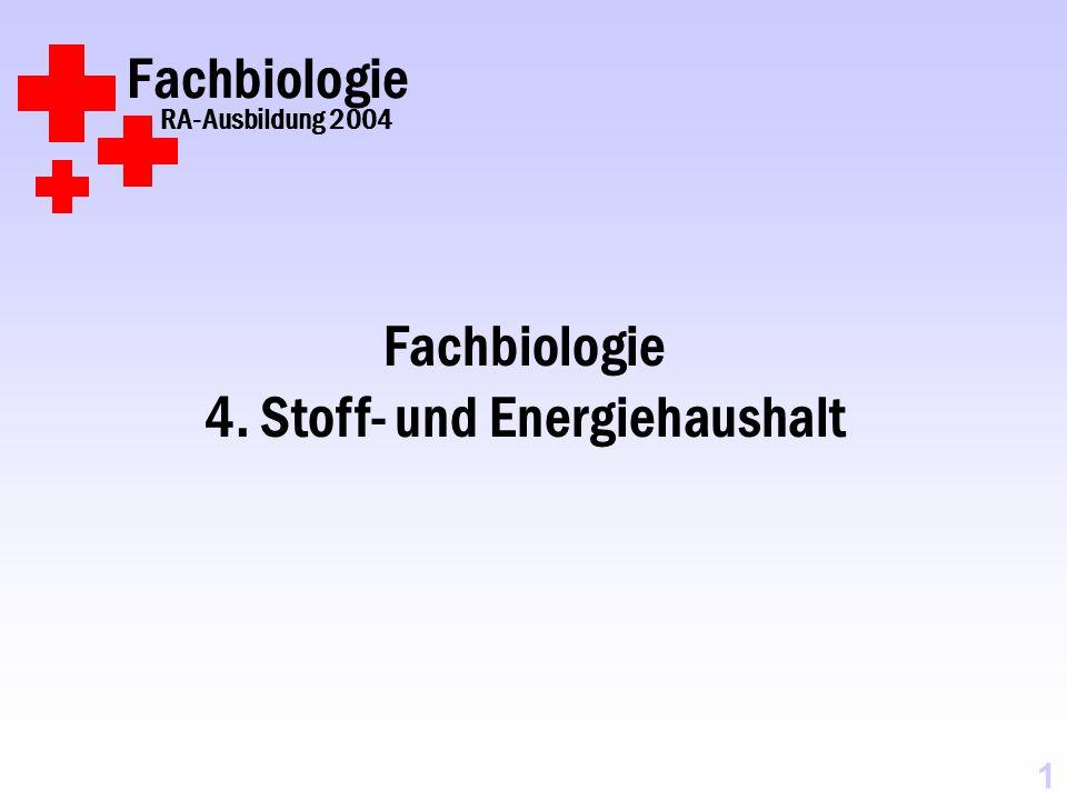 4. Stoff- und Energiehaushalt