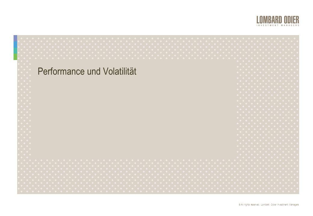 Performance und Volatilität