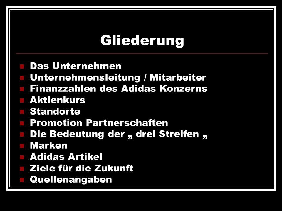 Gliederung Das Unternehmen Unternehmensleitung / Mitarbeiter