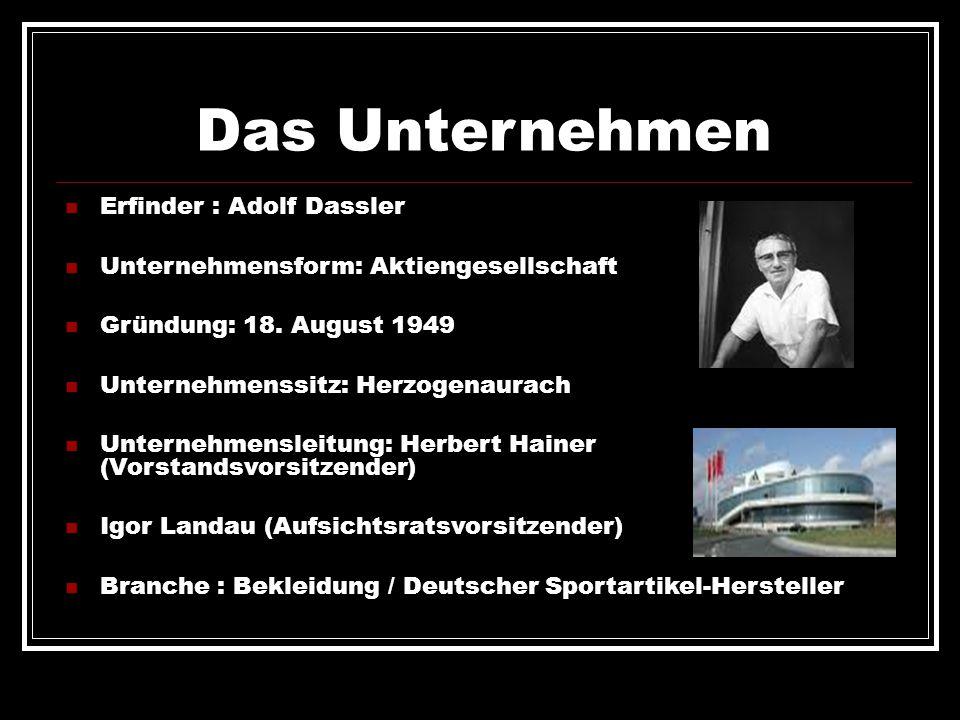 Das Unternehmen Erfinder : Adolf Dassler