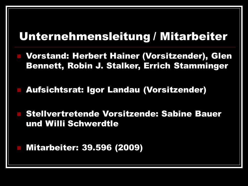 Unternehmensleitung / Mitarbeiter