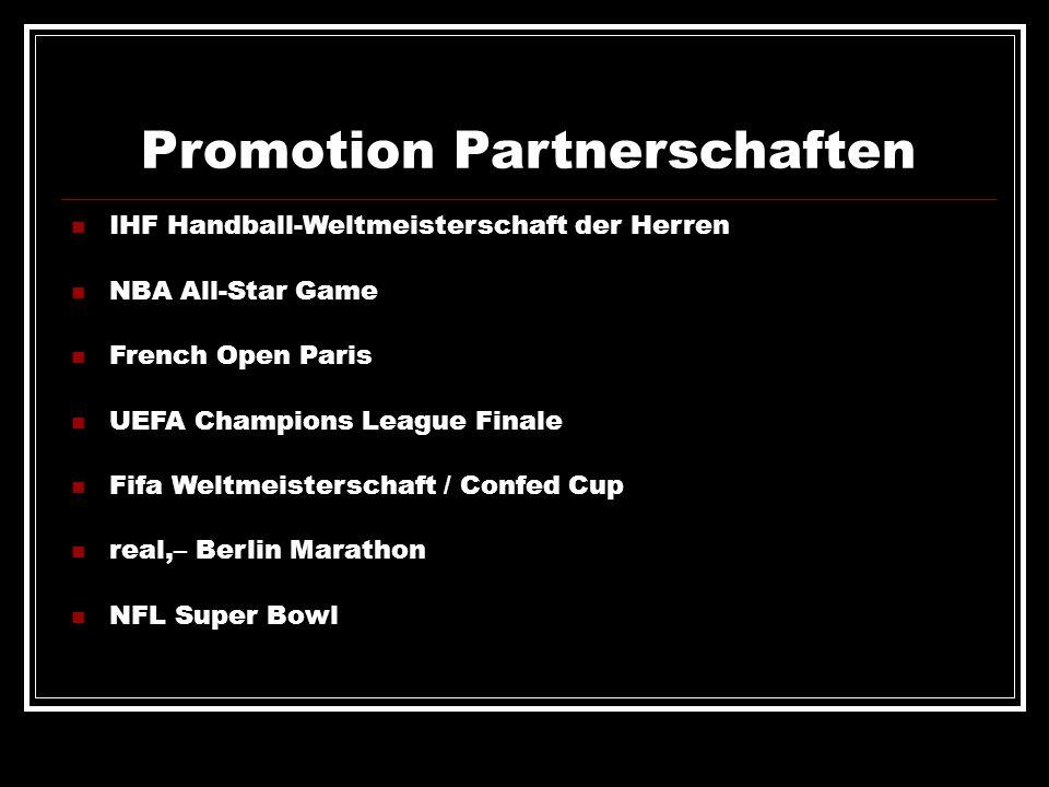 Promotion Partnerschaften