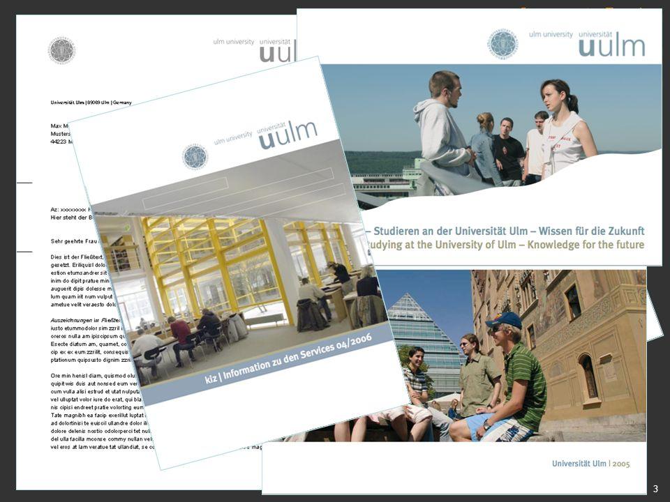 Corporate Design bei den print-Medien neues cd