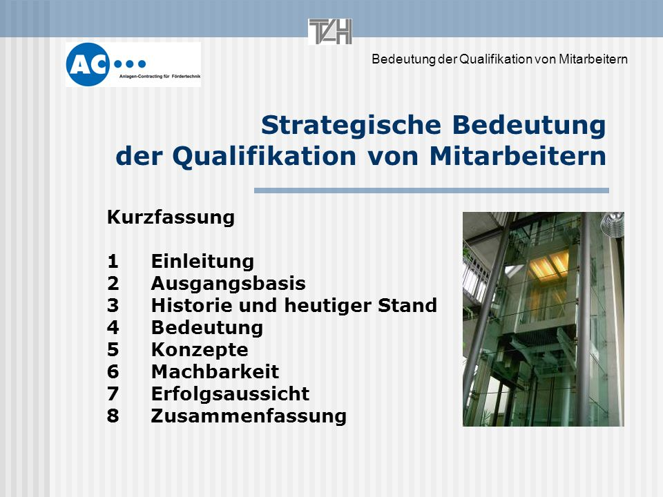 Strategische Bedeutung der Qualifikation von Mitarbeitern