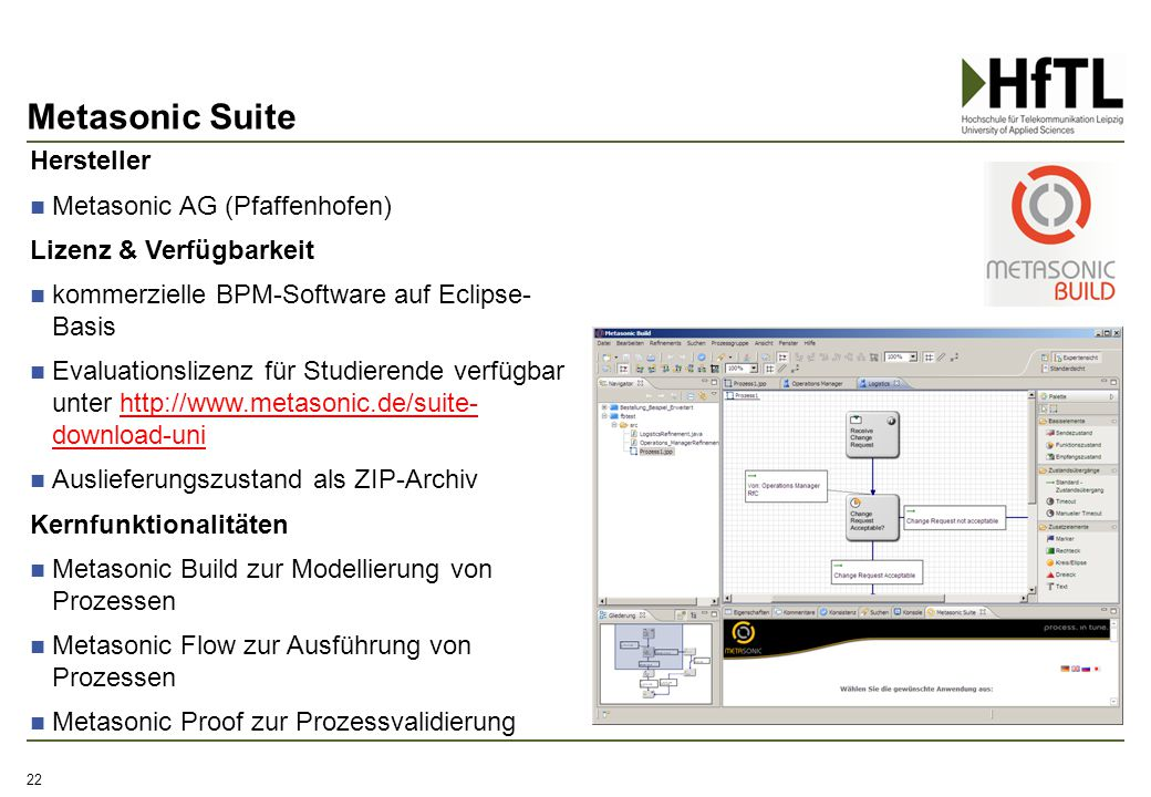 Metasonic Suite Hersteller Metasonic AG (Pfaffenhofen)