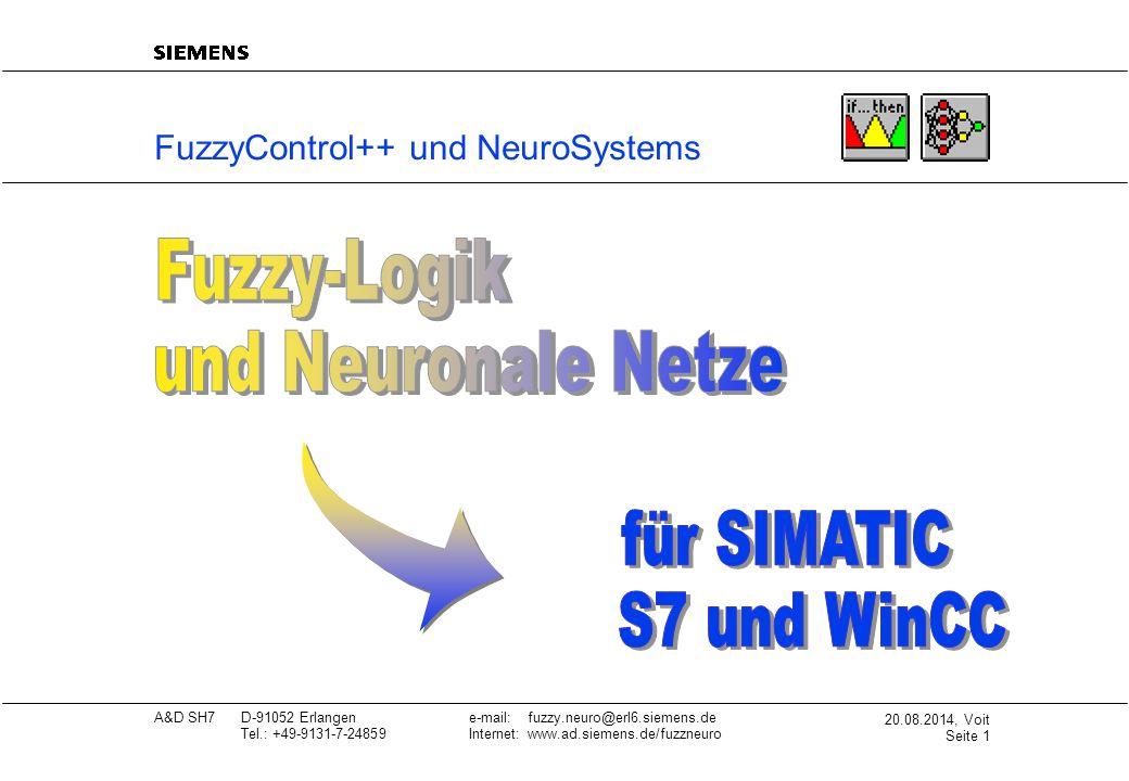 FuzzyControl++ und NeuroSystems