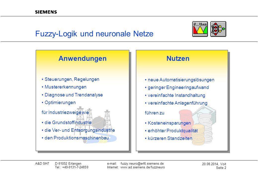 Fuzzy-Logik und neuronale Netze