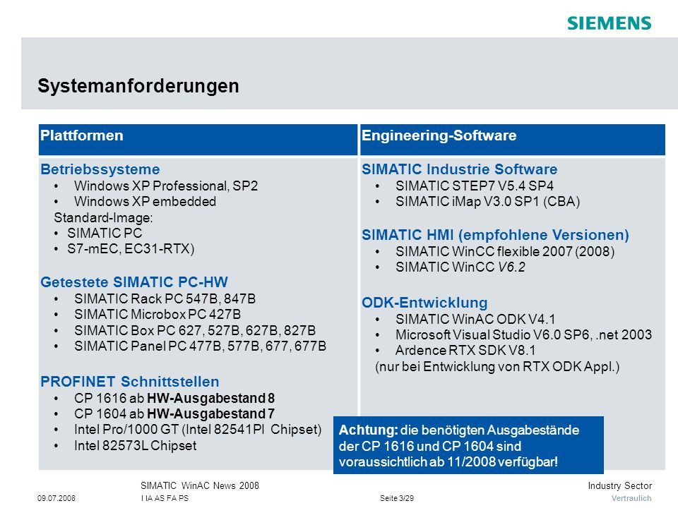 Systemanforderungen Plattformen Engineering-Software Betriebssysteme