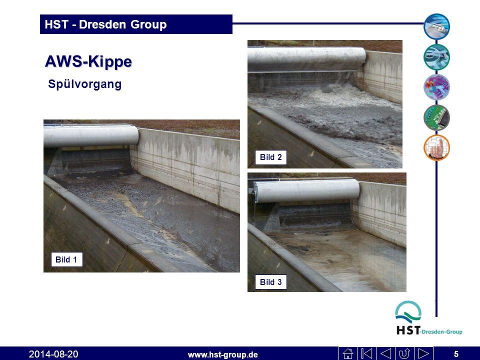 AWS-Kippe Spülvorgang Bild 2 Bild 1 Bild 3 2017-04-06
