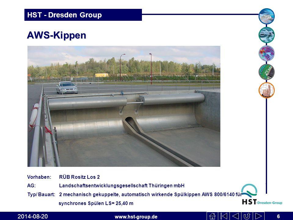 AWS-Kippen 2017-04-06 Vorhaben: RÜB Rositz Los 2