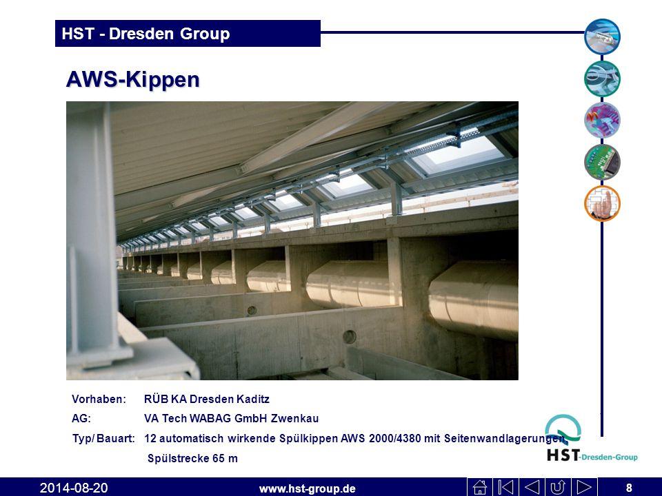 AWS-Kippen 2017-04-06 Vorhaben: RÜB KA Dresden Kaditz