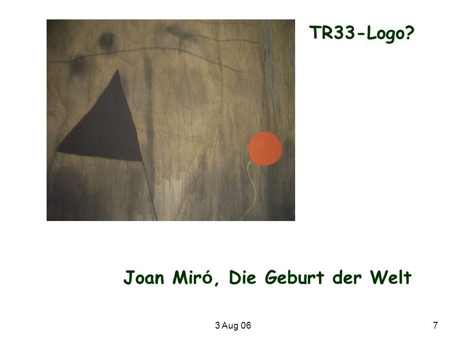 Joan Miró, Die Geburt der Welt