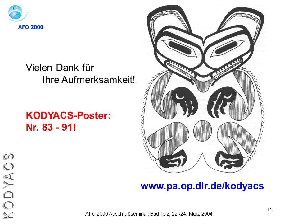 AFO 2000 Abschlußseminar, Bad Tölz, 22.-24. März 2004