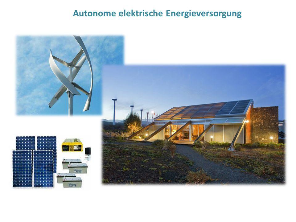 Autonome elektrische Energieversorgung