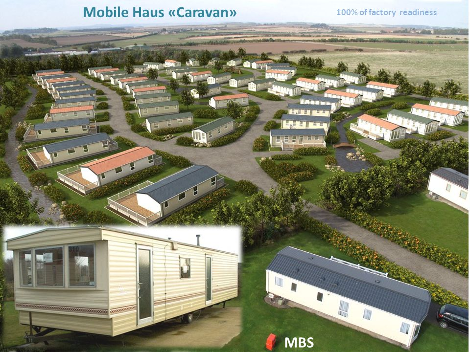 Mobile Haus «Caravan» 100% of factory readiness MBS