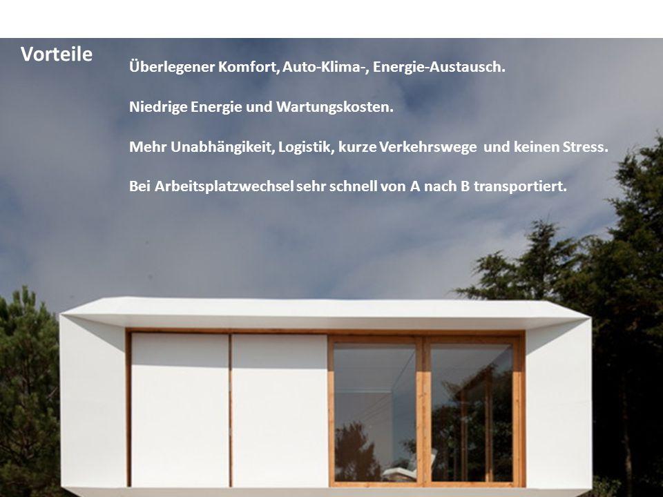 Vorteile Überlegener Komfort, Auto-Klima-, Energie-Austausch.
