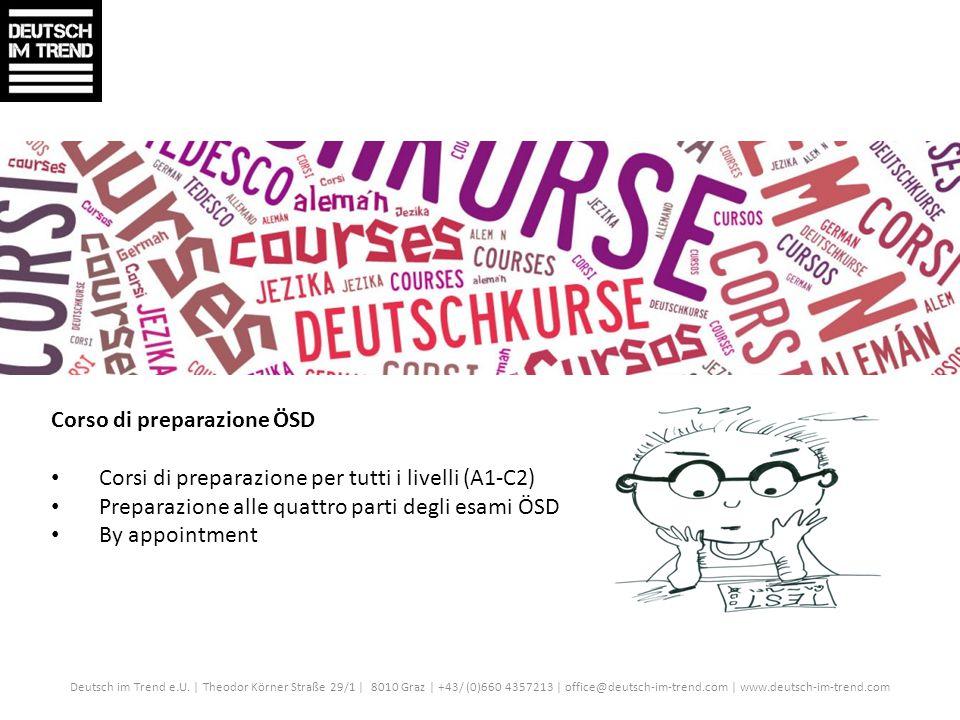 Corso di preparazione ÖSD