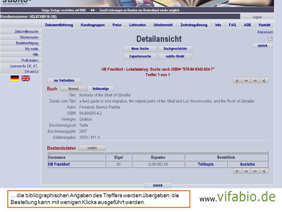 subito: prepopulated form (Bildschirmfoto)