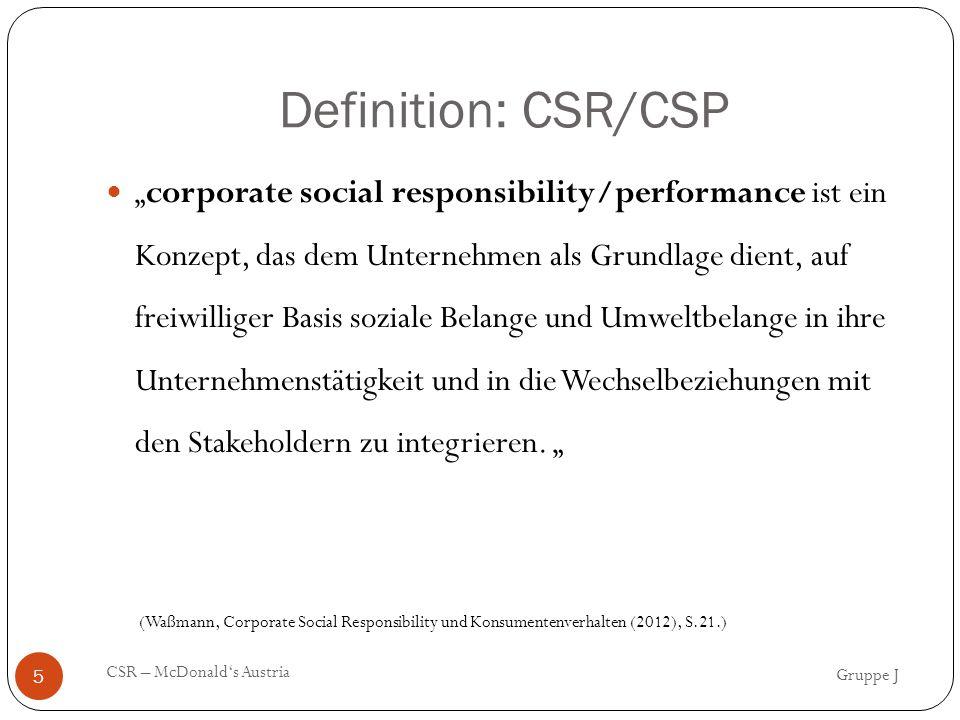 Definition: CSR/CSP