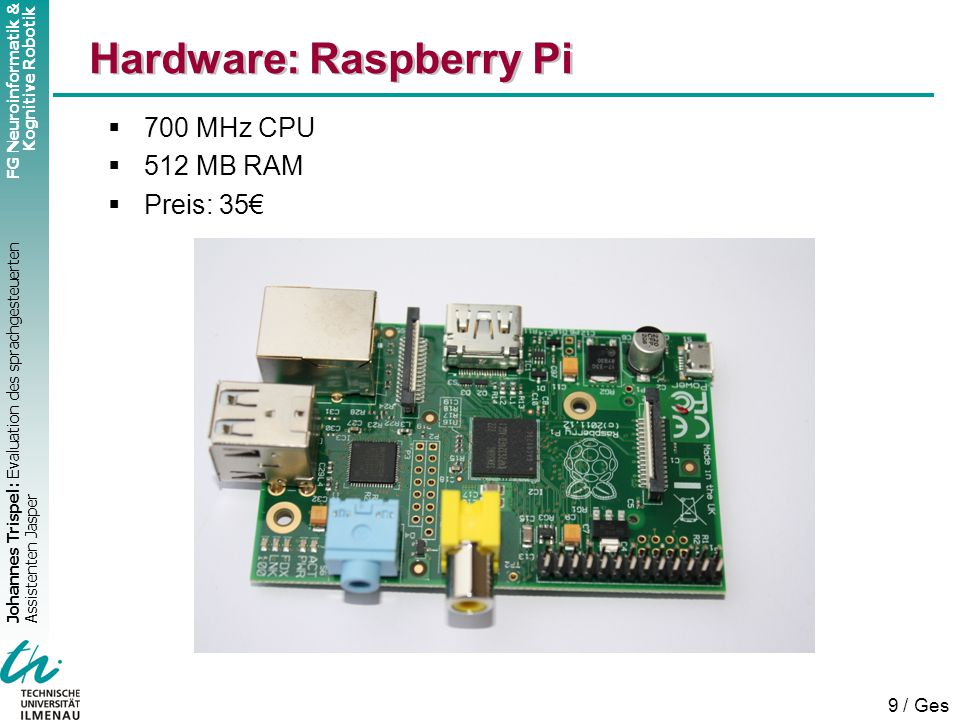 Hardware: Raspberry Pi