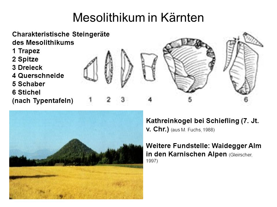 Mesolithikum in Kärnten