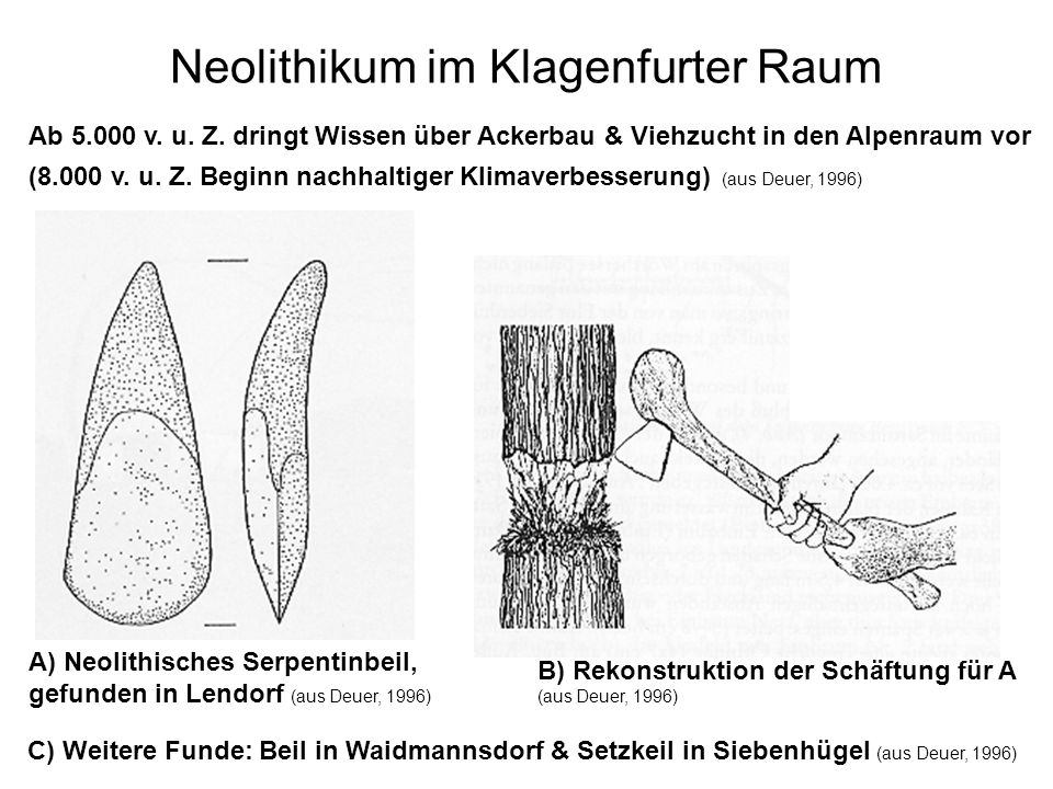 Neolithikum im Klagenfurter Raum