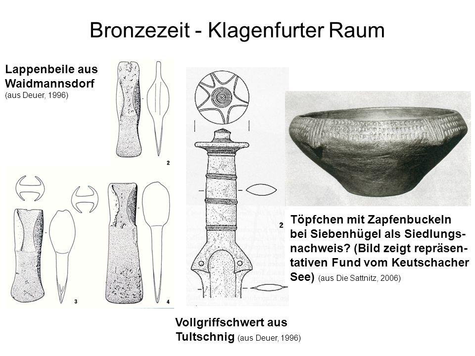Bronzezeit - Klagenfurter Raum