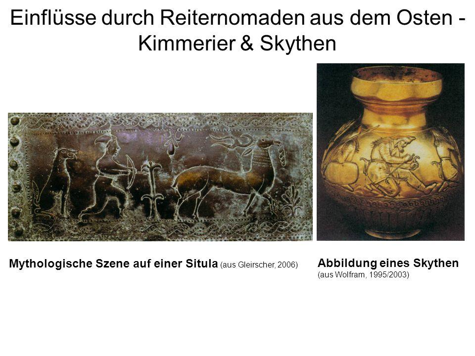 Einflüsse durch Reiternomaden aus dem Osten - Kimmerier & Skythen