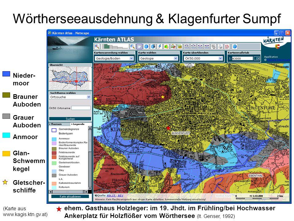 Wörtherseeausdehnung & Klagenfurter Sumpf