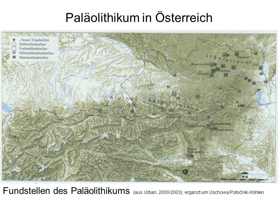 Paläolithikum in Österreich