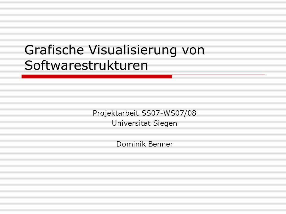Grafische Visualisierung von Softwarestrukturen