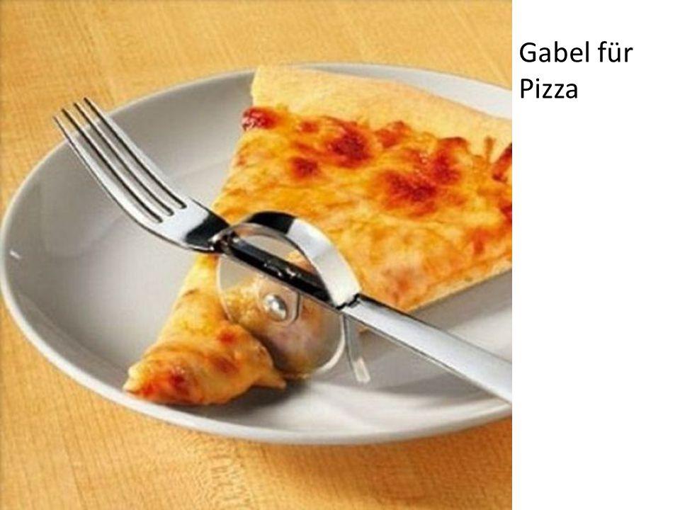 Gabel für Pizza
