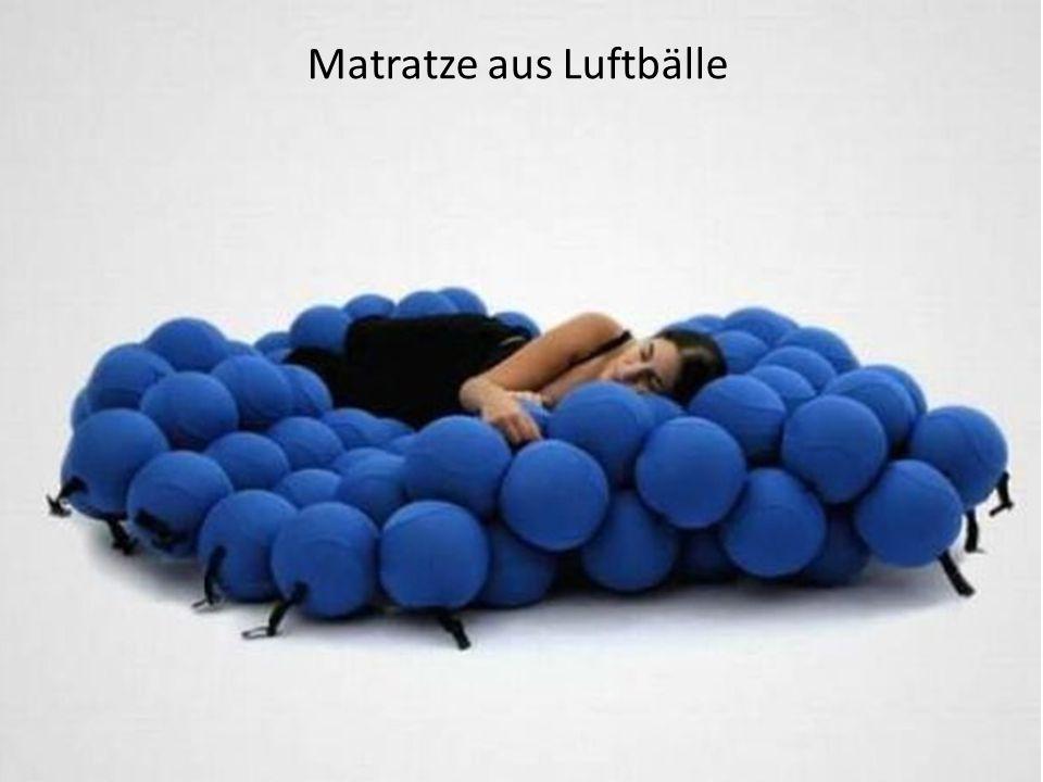 Matratze aus Luftbälle