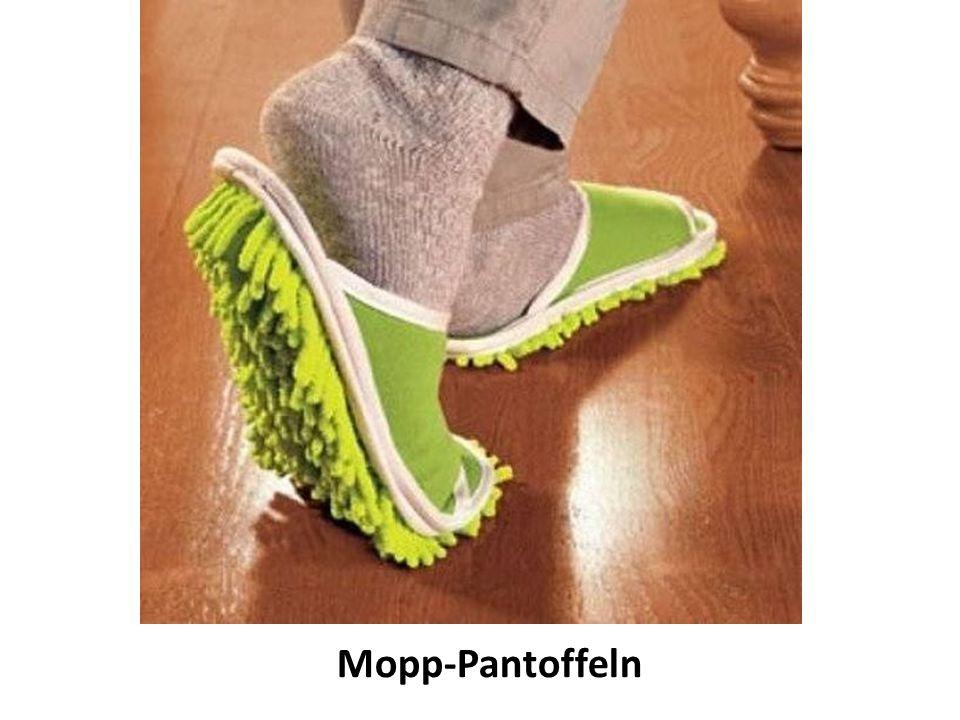 Mopp-Pantoffeln