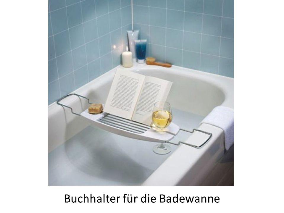 Buchhalter für die Badewanne
