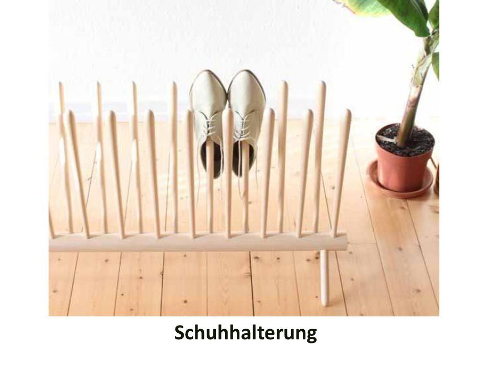 Schuhhalterung