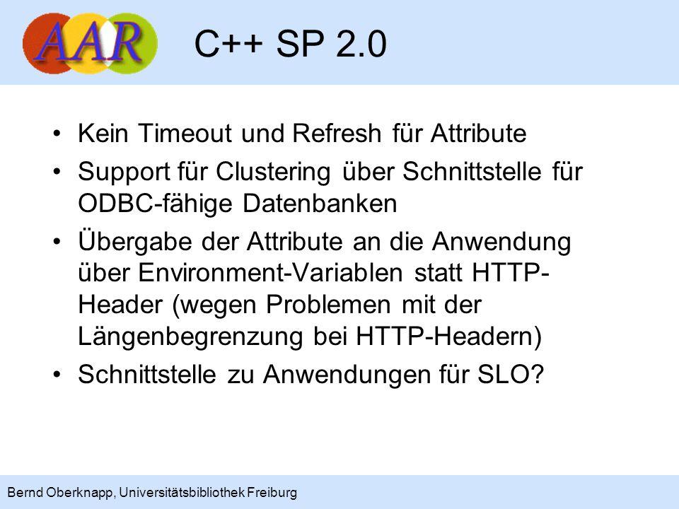 C++ SP 2.0 Kein Timeout und Refresh für Attribute