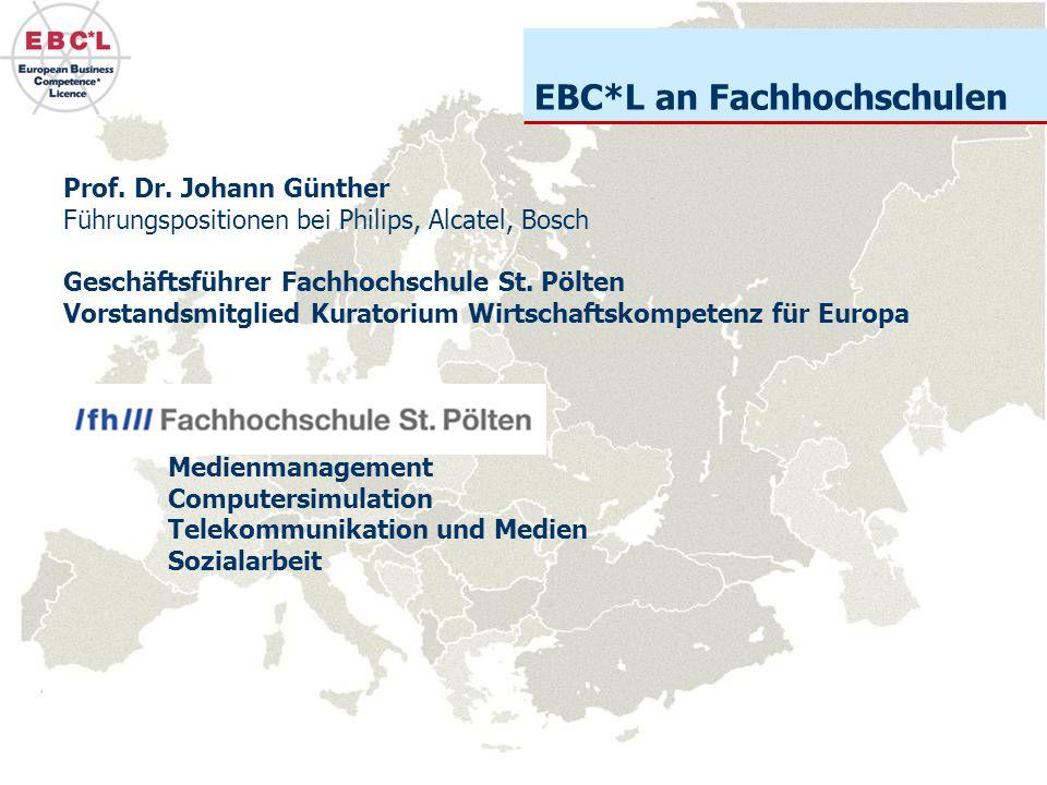 EBC*L an Fachhochschulen