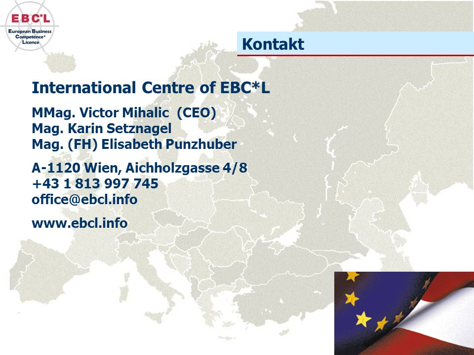 International Centre of EBC*L