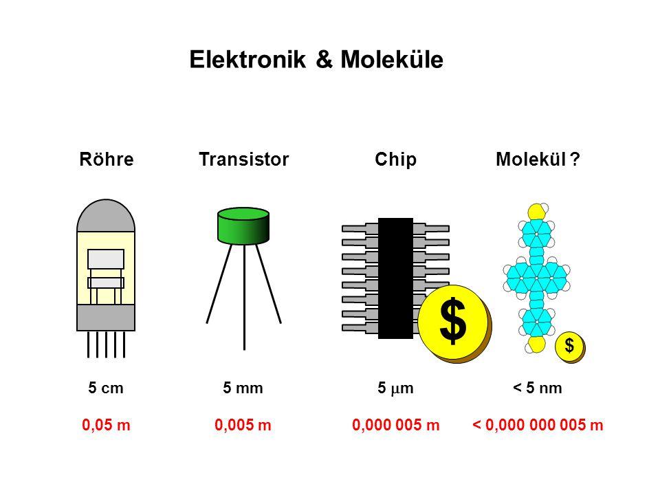 $ Elektronik & Moleküle Röhre Transistor Chip Molekül 5 cm 0,05 m