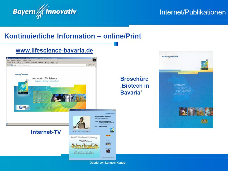 Internet/Publikationen
