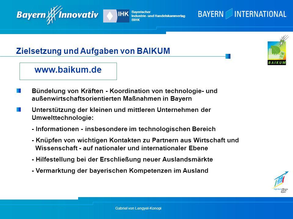 www.baikum.de Zielsetzung und Aufgaben von BAIKUM